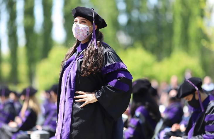 Penn State Law 2021 graduate
