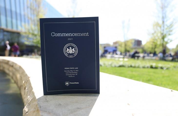 Penn State Law 2021 Commencement Program