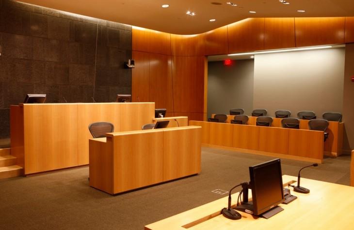 University Park Courtroom