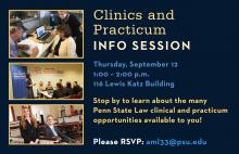 Clinics info session