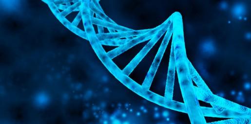 DNA molecule illlustration
