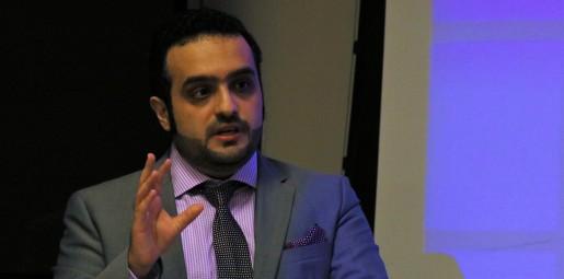 Mohammad Abdulla at his dissertation defense