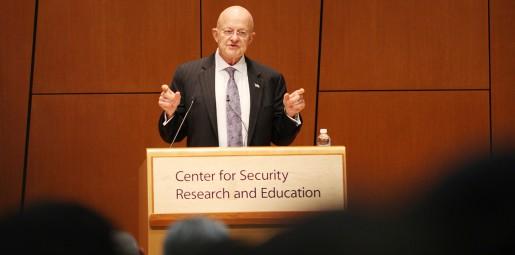 General James Clapper | Penn State Law