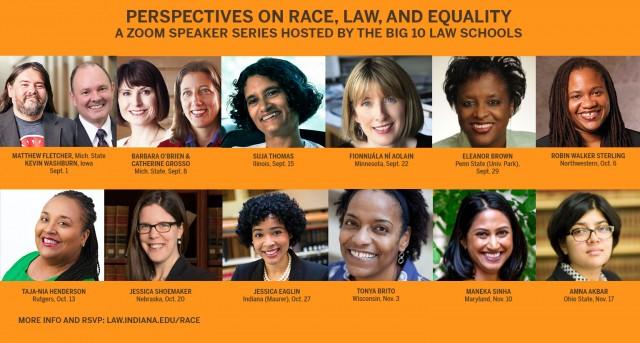 Big 10 Law School Speaker Series
