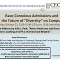 Race Conscious Admissions Symposium