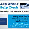 Legal Writing Help Desk