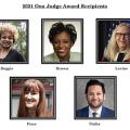 2021 Ona Judge Award winners